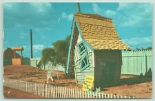 Dallas Fort Worth Texas~Storybook Land Amusement Park~Crooked Man & House~1961