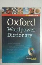 Vocabolario Dizionario Inglese Oxford Wordpower 4° Ed 2014 CD ROM 9780194398237