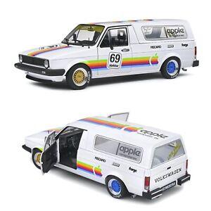 1/18 Solido Volkswagen Caddy MK1 Apple Custom 1982 Neuf Livraison Domicile