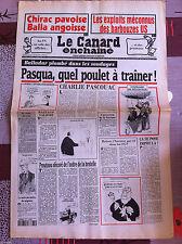 Le Canard Enchainé 1/03/1995; Les exploits méconnus des barbouzes US
