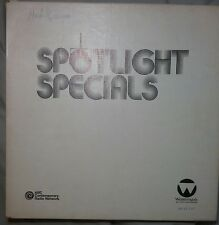 MICHAEL JACKSON SPOTLIGHT SPECIAL 2 LP RARE INTERVIEW RADIO 1984 ABC WATERMARK