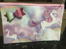Personalised mermaid Pencil Case make up bag school xmas Birthday name girl