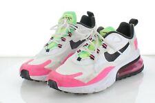 51-60  MSRP $160 Women's Sz 8 Nike Air React 270c Textile Athletic Shoes - White