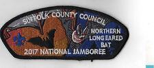 2017 National Scout Jamboree Suffolk County Council Long Eared Bat JSP [NJ1023]