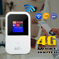 Portable 4G-LTE 150Mbps WIFI Router Mobile Hotspot Modem Broadband Battery