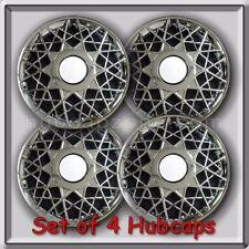 "4 16"" 1998-2002 Mercury Grand Marquis Hubcaps, Wheel Covers 16"" Chrome Mesh"