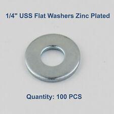 14 Uss Flat Washers Standard Steel Zinc Plated Od 34 Qty 25 Pcs 5000 Pcs
