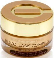 Elizabeth Grant Biocollasis Complex Cell Vitality Renewal Night Cream 1.7 OZ New