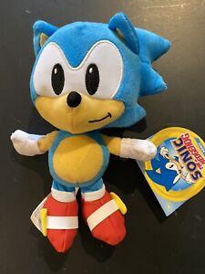 """Sonic the Hedgehog 7"""" SONIC PLUSH FIGURE Official JAKKS Pacific Plushie"""