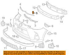 TOYOTA OEM Front Bumper-Seal Retainer Clip 9046705063C0