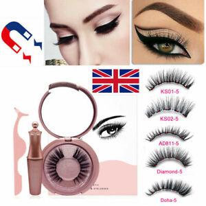Magnetic liquid Eyeliner And Magnetic False Eyelashes Easy to Wear Lashes Set
