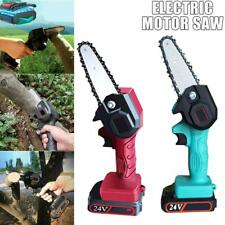 Christmas Rechargeable MINI Wood Cutting Lithium Chainsaw 550W 24V