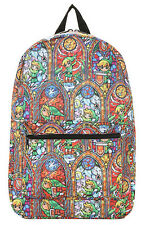 The Legend Of ZELDA The Wind Waker LINK Stained Glass BACKPACK Back to School