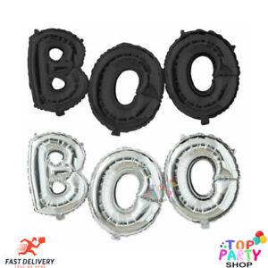Halloween Balloons BOO Foil Balloon Garland Trick Treat Party Decor 16 Inch Foil