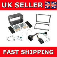 Connects2 CTKVX09 Vauxhall Vectra Tigra Matt Chrome Complete Stereo Fitting Kit