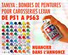 Tamiya peinture bombe pour carrosserie Lexan 100ml - DE PS1 A PS63