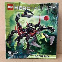 LEGO Hero Factory Scorpio 2236 New Sealed Damaged Box Unopened