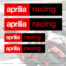 aprilia racing new style decal sticker
