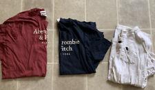 Abercrombie & Fitch size Medium T Shirt Lot