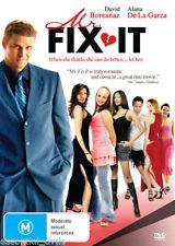 Mr Fix It DVD David Boreanaz Brand New R4