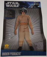 Star Wars Anakin Podracer Costume Halloween Cosplay Child Youth Small 4-6
