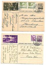 Switzerland: 3 Postal Stationery differents, Used, Bridges, XF, EBSW05