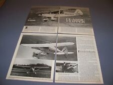 VINTAGE.. PIPER PA-16 CLIPPER..HISTORY/DETAILS/PHOTOS..RARE! (319H)