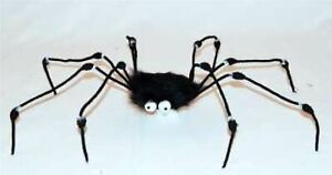 "32"" FUR SPIDER WEB SCARY HORROR HALLOWEEN PROPS DECORATION"