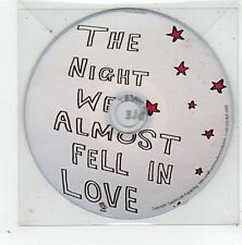 (GD834) Lewis Idle, The Night We Almost Fell In Love - 2014 DJ CD