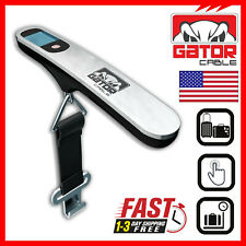 Portable Travel Digital Hanging Luggage Scale Electronic LCD Weight 110lb 50kg