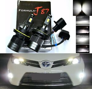 LED Kit G8 100W 9008 H13 4300K Stock Two Bulbs Headlight Replacement Stock Lamp