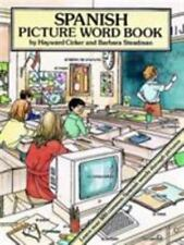 Spanish Picture Word Book Dover Children's Language Activity Books