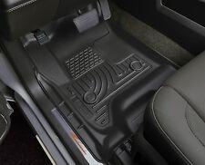 Husky Liners WeatherBeater Floor Mats-2p-18221 Silverado/Sierra Single Cab Black