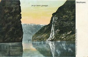 SONDMORE - De Syv Sostre I Geiranger - Norway - udb (pre 1908)