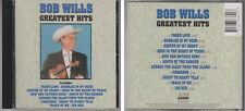BOB WILLS Greatest Hits 1990 Curb CD Faded Love Heart of Texas Country Western