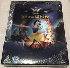 Snow White and The Seven Dwarfs Lenticular Steelbook - Limited Edition Blu-ray