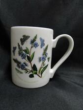 "Portmeirion Botanic Garden, England or Britain: Speedwell Mug (s), 4 1/8"" Tall"