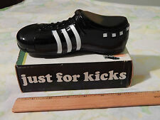 "(Vtg.) Avon ""Just For Kicks"" [7oz.] Spicy After Shave Decanter Cleat w/ Box Full"