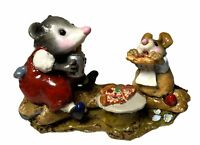 "Wee Forest Folk: ""Possum's Pizza Party"" Collectibles, M-244"
