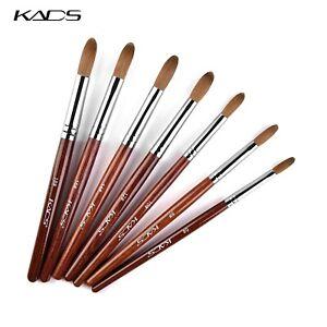 KADS Kolinsky Sable Brush Acrylic Nail Brush Nail Art Pens for Manicure Tools