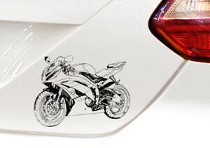 Auto Motorrad Aufkleber Sticker ähnlich R 6 Bj 2016