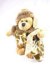 GAP Brown Teddy Bear Leopard Jacket Matching Bag w/ stand New