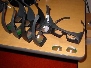 3D by Omega Complete Kit for Dual Projectors, including 5 pairs of Glasses