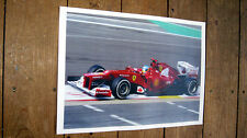 Fernando Alonso Ferrari F1 Legend POSTER