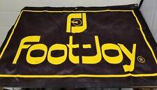 "Foot-Joy Golf Store Dealer Sign Advertisement Advertising Banner FootJoy 45""×30"""