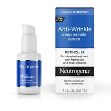 Neutrogena Ageless Intensives Anti-Wrinkle Deep Wrinkle Serum Treatment 1 Fl. Oz