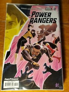 POWER RANGERS #2 COVER A SCALERA NM 2020 BOOM! STUDIOS HOHC