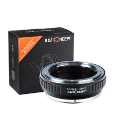 Konica-M4/3 Adapter for Konica AR Lens to Micro 4/3 M4/3 Mount K&F Concept