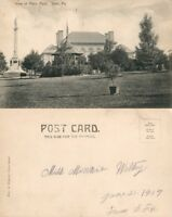 YORK PA VIEW of PENN PARK UNDIVIDED ANTIQUE POSTCARD