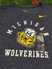 Nike standard fit Michigan Wolverines Biff Throwback shirt 3XL New with tags